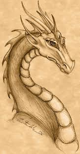 dragon drawings favourites by mizzkittenme4u on clipart library