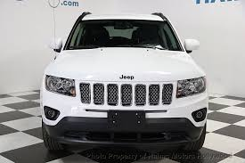 jeep compass white 2016 used jeep compass 4wd 4dr latitude at haims motors serving