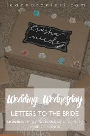 letters to the bride change with us