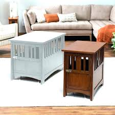 coffee table kennel dog crate ideas dog crate coffee table