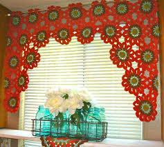 Curtains For A Kitchen by 30 Best Crochet Curtains Images On Pinterest Crochet Curtains