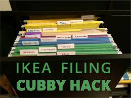 Ikea Filing Cabinet Ikea Expedit Filing Cabinet Hack 6 Steps With Pictures