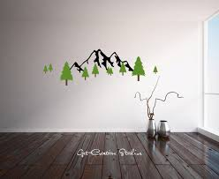 wall decal mountain color walls your house