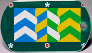 County Flags Cumbria County Flag Tag