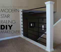 how to make a banister for stairs stair railing makeover diy baluster hometalk
