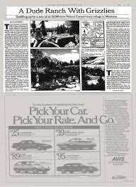 bureau d ude automobile a dude ranch with grizzlies the york times