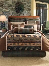 log cabin bedding set rustic cabin bedding sets sets log cabin style