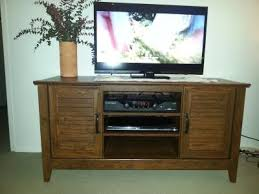 Tv Tables At Walmart Sauder Milled Cherry Panel Tv Stand For Tvs Up To 47