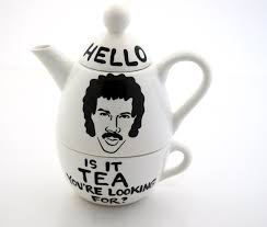 lionel richie cheese plate hello lionel richie teapot and cup set is it tea you re looking for