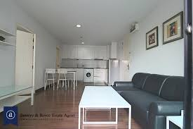 bright one bedroom condo for rent in ekkamai bowery and royce