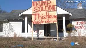 vacant house sends big message to donald trump