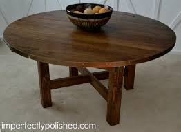 Building Outdoor Wooden Tables by This Diy Rustic Round Table Would Be Great For The Cake Or A Photo
