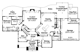floors with porte cochere house floor plans plan kevrandoz