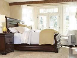 Grand Estates Sleigh Bedroom Set Universal Furniture Reprise Rustic Cherry California King Size