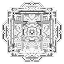remarkable sacred geometry mandala coloring pages complex