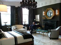 Black Curtains Bedroom Black Curtains Contemporary Bedroom