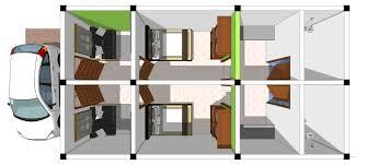 design interior rumah kontrakan kontrakan dua pintu 6 jasa desain interior