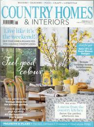 Country Homes And Interiors Magazine by Latest Press Coverage For Quintessential Europe