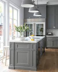 versus light kitchen cabinets kitchen with gray cabinets why to choose this trend decoholic