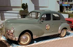 pergut car file peugeot 203 rally car 1950 at tanger morocco april 2013