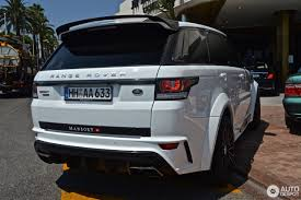 land rover mansory range rover sport 2013 12 august 2016