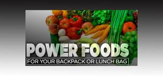 power foods for your backpack or lunch bag