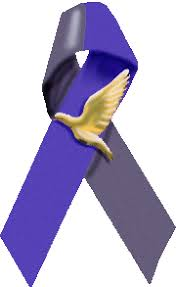 black and blue ribbon ribbons their meaning