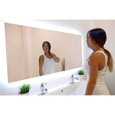 Bathroom Mirrors Overstock Ib Mirror Rectangle Backlit Bathroom Mirror Free Shipping Today