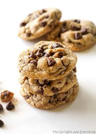 thanksgiving chocolate chip cookies salty browned butter chocolate chip cookies the who ate
