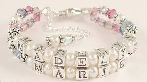 baby bracelets personalized personalized baby bracelets jewelry