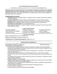 Social Worker Resumes Samples by Excellent Social Worker Resume Objective 14 For Resume Templates
