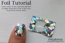 polish pals nail foil tutorial