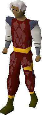 red d hide gold trimmed armour old school runescape wiki