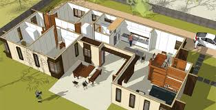 central courtyard house plans house plan central courtyard house and home design