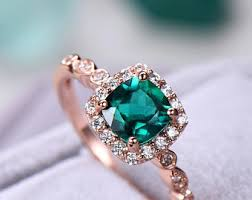 emerald engagement ring emerald engagement ring etsy