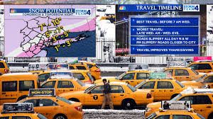friday before thanksgiving snow wintry weather forecast to muck up thanksgiving travel nbc