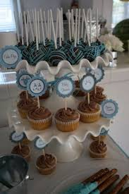 the most beautiful baby shower cake pop stand display ever