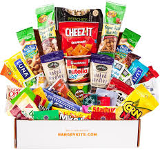 sick person care package hangry kit kit gift for men college care package of