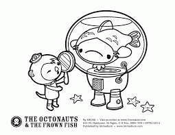 octonauts coloring pages coloring