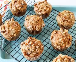 carrot cake oatmeal muffins with walnuts and raisins u2013 dianna