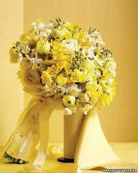 Wedding Flowers August Picture Of Yellow Wedding Bouquets