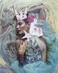 8x10 fashion photography mixed media fine art color print texture