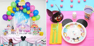 birthday party supplies disney tsum tsum party supplies birthday in a box