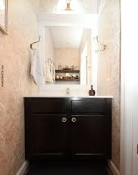 Powder Room Towels - powder room makeover how to nest for less
