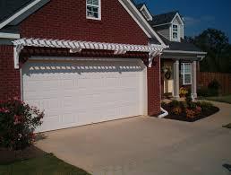 garage door trellis or arbor a frame garage front garage arbor