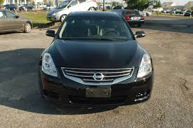 altima nissan black 2010 nissan altima sl black sedan used car sale