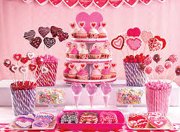 Valentine S Day Dessert Decorations by Valentine U0027s Day Treats Ideas Party City