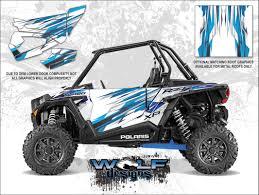wolf designs polaris 2016 rzr xp turbo matte white lightning door