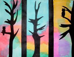 tissue paper painting kids u0026 glitter