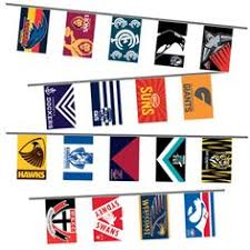 Australian Themed Decorations - australian football gift tags football shape aussie rules footy